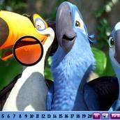 Игра Поиск цифр, спрятанных попугаями