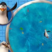 Игра Рыбалка с пингвинами Мадагаскара