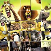 Игра Пазл о Мадагаскаре