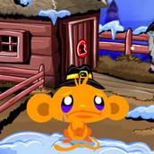 Игра Праздничная индейка для счастливой обезьянки