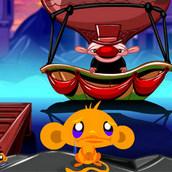 Игра Счастливая обезьянка: поиски талисмана