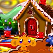Игра Счастливая обезьянка: охота за сладостями