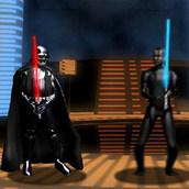 Игра Битвы на лазерных мечах