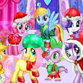 Игра Празднование Нового года в Понивиле