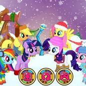 Игра Зимняя мода Понивиля