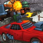 Игра Дорога ярости 2: Зимой