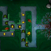 Игра Защитные башни обороняют лес