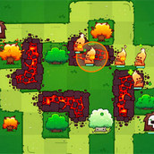 Игра Защита башнями: спасение Матушки Природы