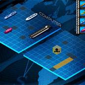 Морской бой с военными кораблями