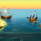 Боевой флот в Карибском море