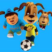 Игра Футбольный турнир Барбоскиных