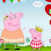 Игра Свинка Пеппа: поздравление мамы