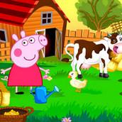 Игра Каникулы свинки Пеппы у бабушки в деревне