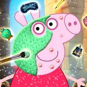 Макияж для свинки Пеппы