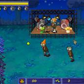 Игра Защита базы от зомби
