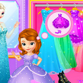 Шоппинг принцесс в модном бутике