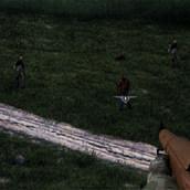 Игра Стрелялка с зомби на ферме