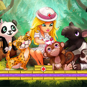 Игра Лечить животных: больница в джунглях