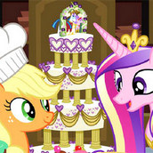 Игра Приготовление свадебного торта