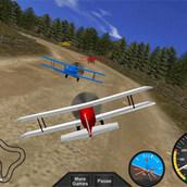 Игра 3д гонки на самолете