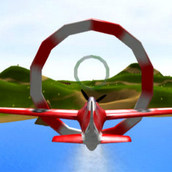 Игра Трюки на самолете 3д