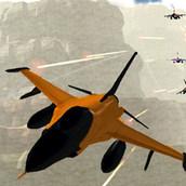 3д стрелялка: реактивный истребитель