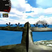 Симулятор тренировки полетов на самолете 3д