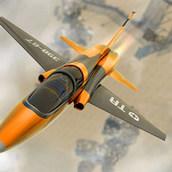 Крутой пилотаж на самолете 3д