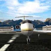 Игра Пассажирский самолет 3д