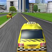 Игра 3D гонки на такси