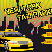 Парковка такси в Нью-Йорке