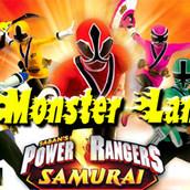 Игра Могучие Рейнджеры Самураи в краю чудовищ