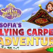 Игра Принцесса на ковре-самолете