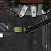Игра Парковка дальнобойщиком фуры