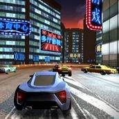 Гонки в ночном городе 3Д
