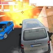 Игра Дрифт на вооруженных машинах 3Д
