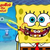 Игра Лечить зубы Губки Боба