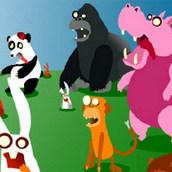 Игра Нападение животных-зомби