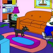 Игра Интерактивный дом Симпсонов
