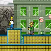 Игра Симпсоны: Бродилка Гомера