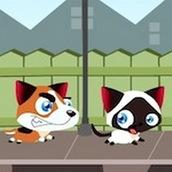 Игра Котята и щенята