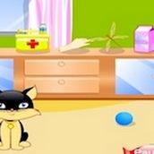 Игра Кормить котят