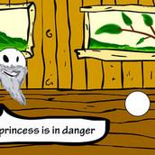Игра Рисовалка оживлялка: спасение принцессы