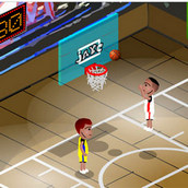 Игра Баскетбол в одну корзину
