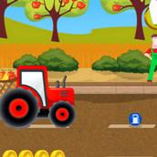 Игра Фермерская доставка на тракторе