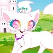 Игра Одень принцессу котят