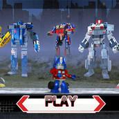 Игра Новые Лего трансформеры