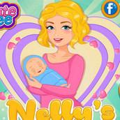 Игра Нелли ожидает ребенка
