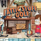Игра Мини гольф на двоих с Мейбл и Диппером