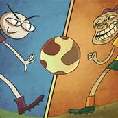 Игра Троллфейс квест 5: футбол